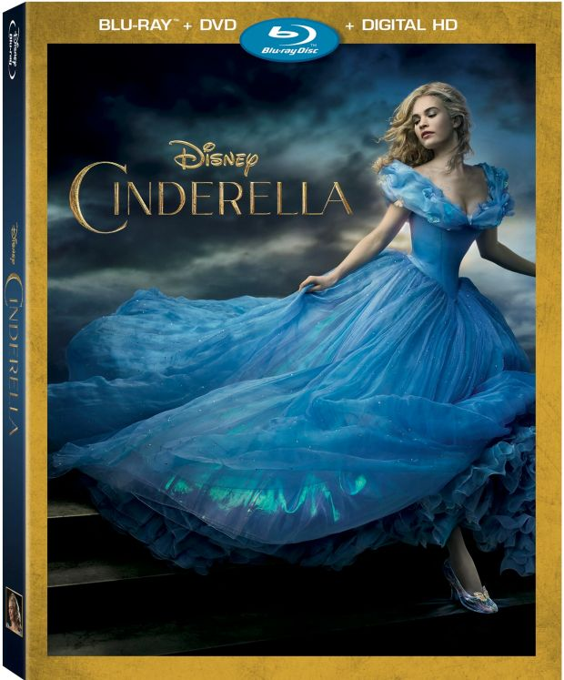 Cinderella Is Arriving On Blu-ray Combo Pack!