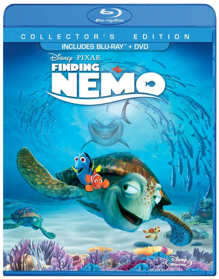 Finding Nemo on Blu-ray