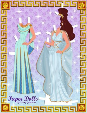 Meg Paper dolls 2 by Paper Dolls By Cory