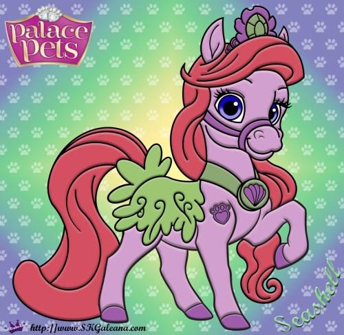 Seashell Princess Palace Pet SKGaleana image copy