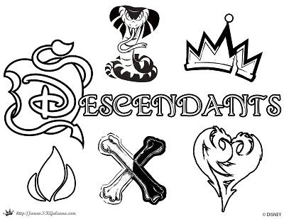 Descendants-apple-coloring-Page-SKGaleana