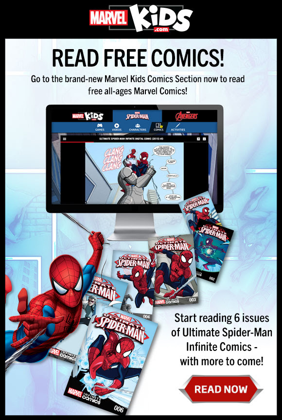 Marvel Kids Comic Books