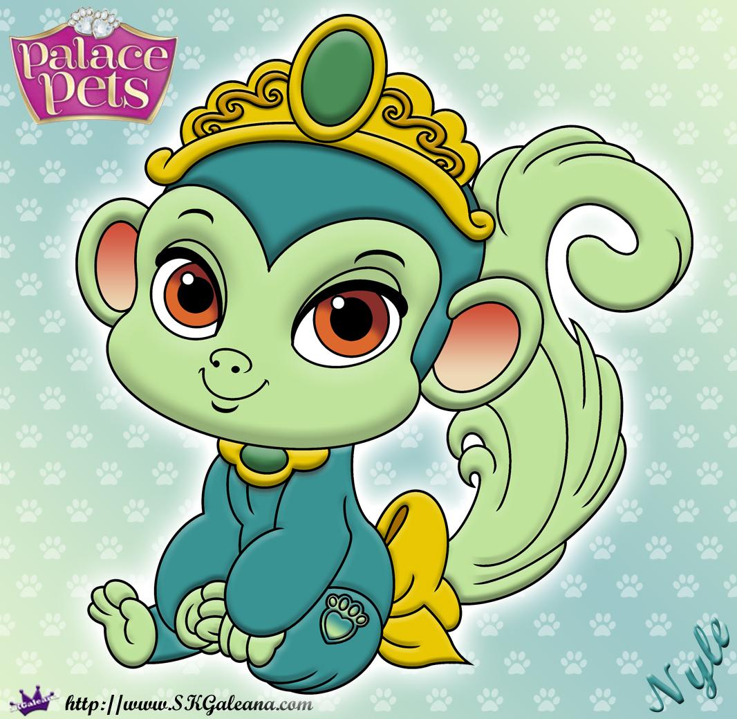 Free Princess Palace Pets Coloring Page Of Nyle Skgaleana