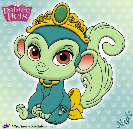Nyle Princess Palace Pet Coloring Page SKGaleana image