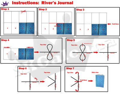 River Songs Journal Mini instructions copy