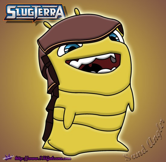 Sand Angler from Slugterra