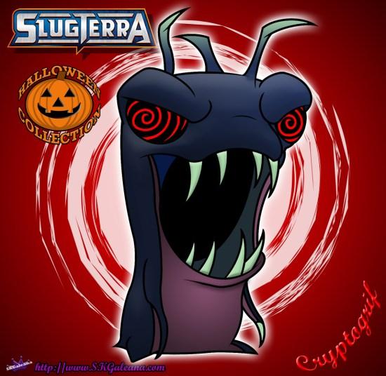 Halloween Cryptogrif Slug from Slugterra SKGaleana image