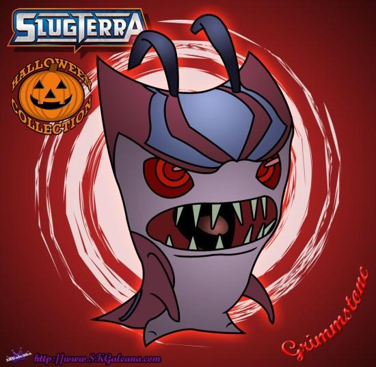 Halloween Grimmstoner coloring Page Slugterra SKGaleana image
