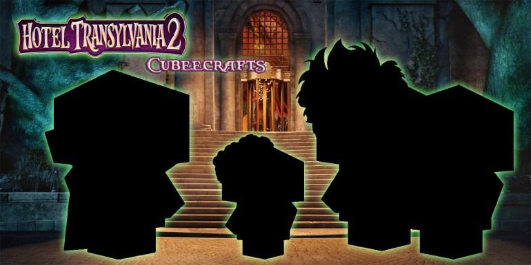 Hotel Transylvania 2 Cubeecraft poster