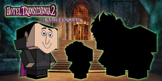 Hotel Transylvania 2 Cubeecraft poster1