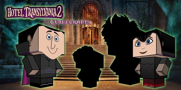 Hotel Transylvania 2 Cubeecraft poster2