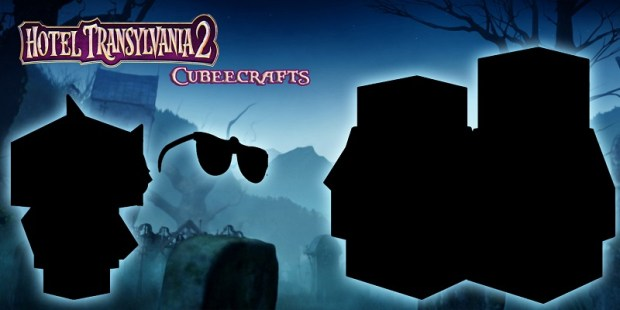 Hotel Transylvania 2 Cubeecraft poster8