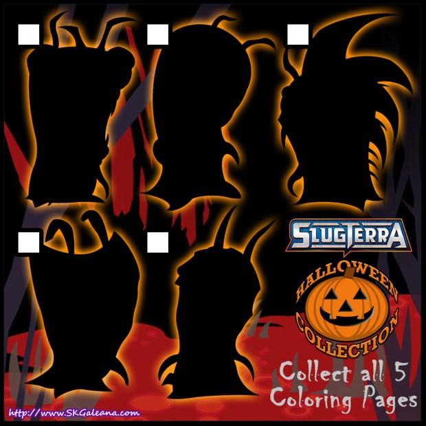 Slugterra Halloween Collection Checklist by SKGaleana1