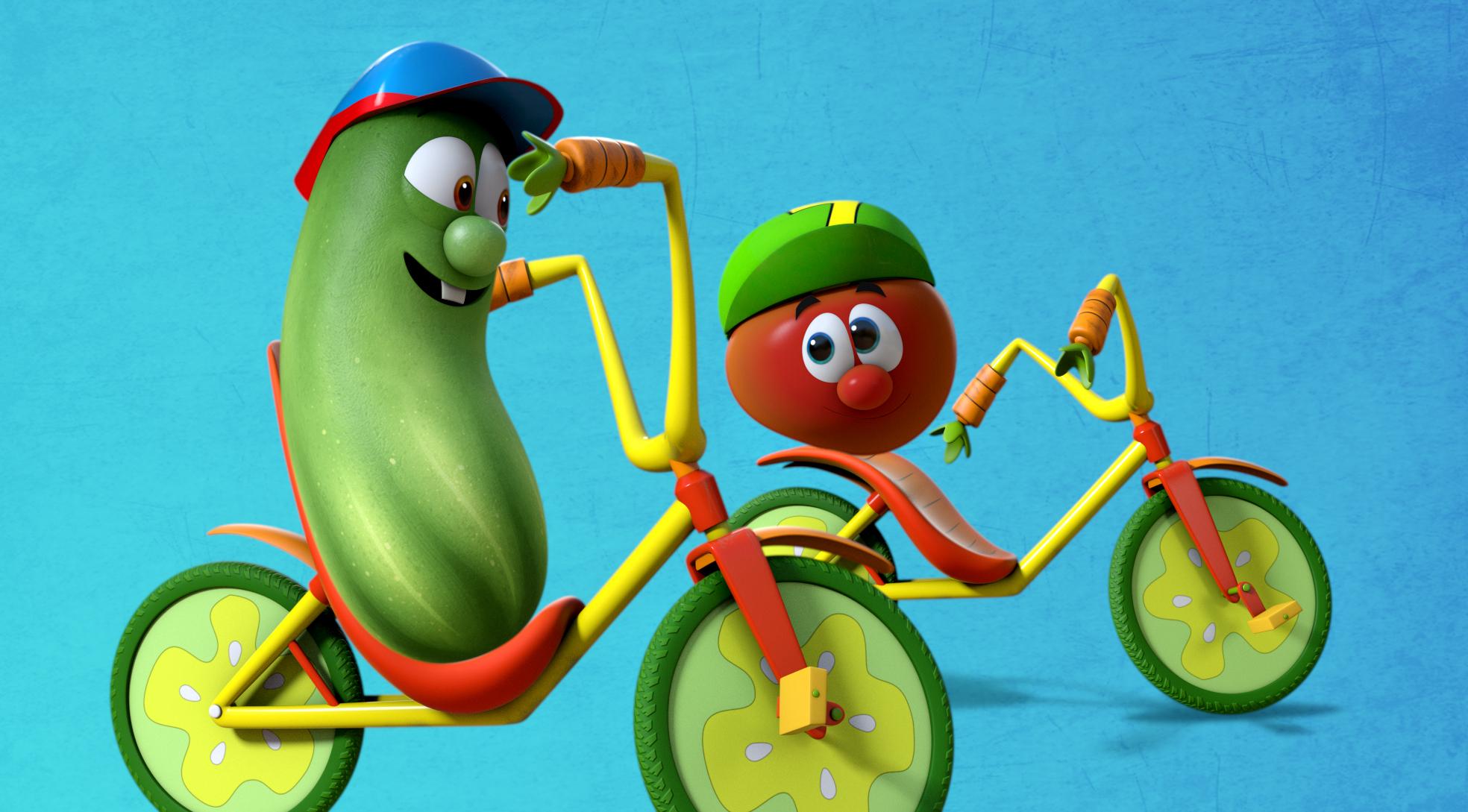 VeggieTales Larry and Bob