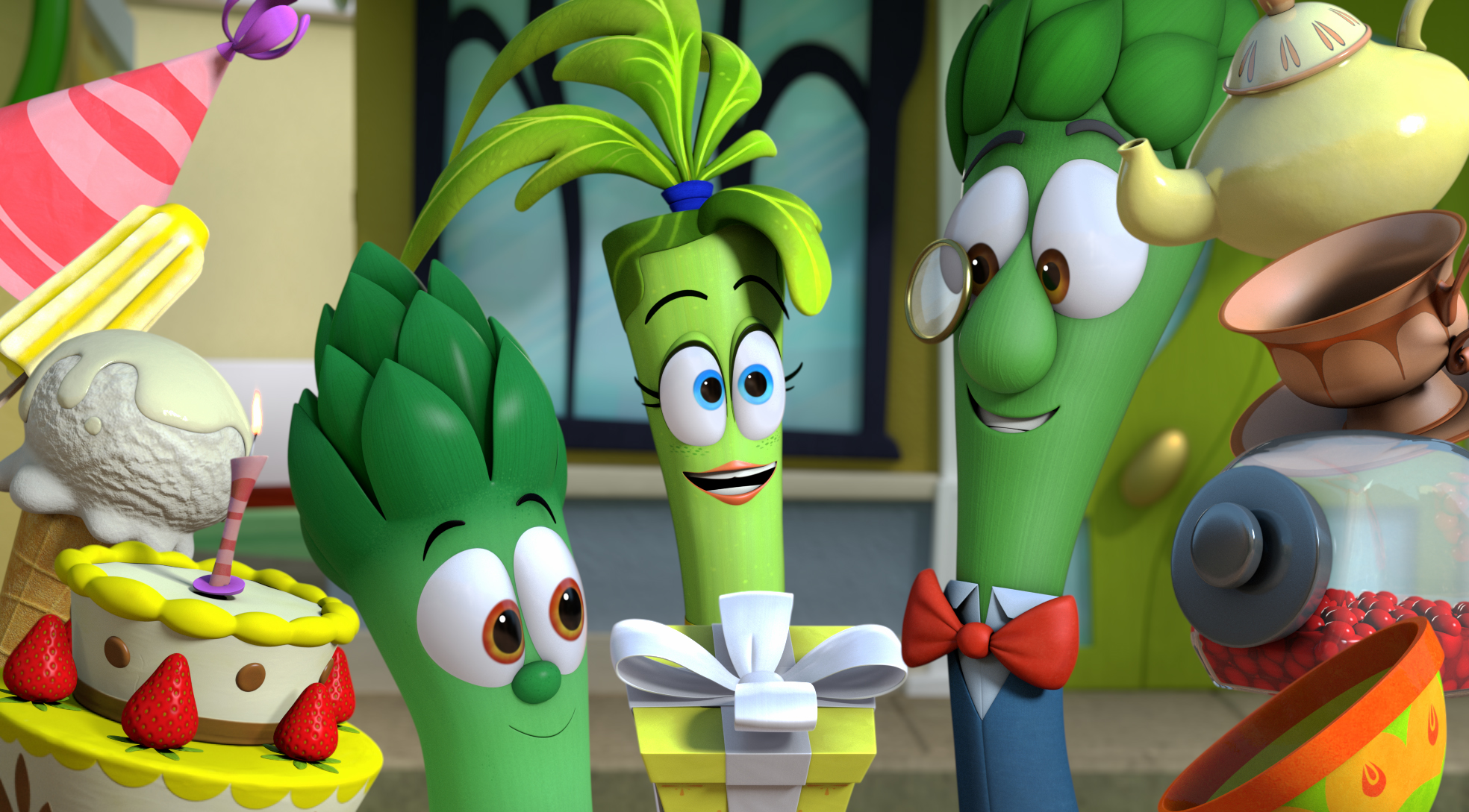 "VeggieTales ""Two Birthdays / Playground Tales"""