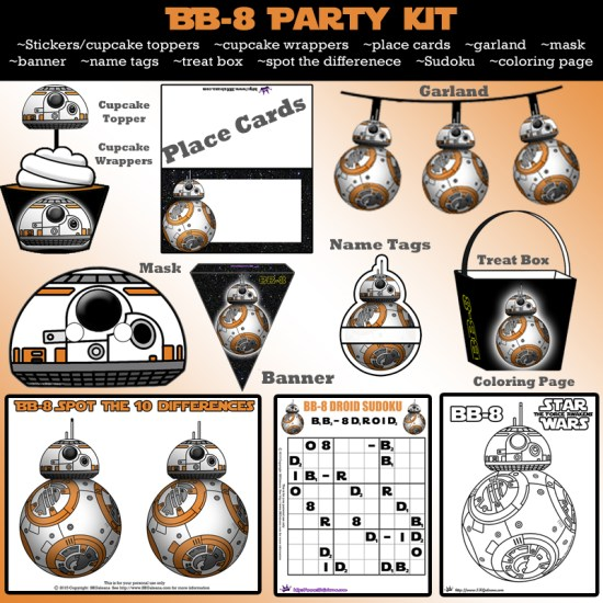 BB-8 Party Kit