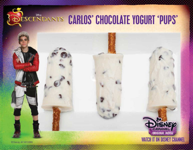Carlos chocolate yogurt pups