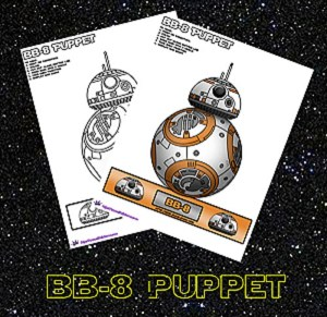 Coloring Page BB-8 Puppet by SKGaleana image1 copy