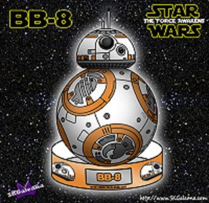 Coloring Page BB-8 Puppet by SKGaleana image1 small1