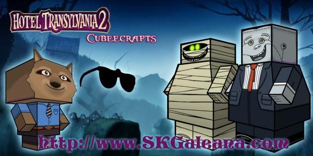 Hotel Transylvania 2 Cubeecraft poster10
