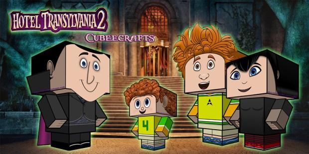 Hotel Transylvania 2 Cubeecraft poster4