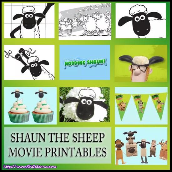 Shaun the sheep free movie printables