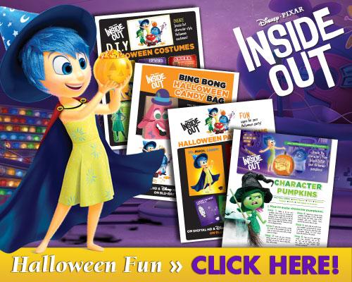 inside out Halloween Activities