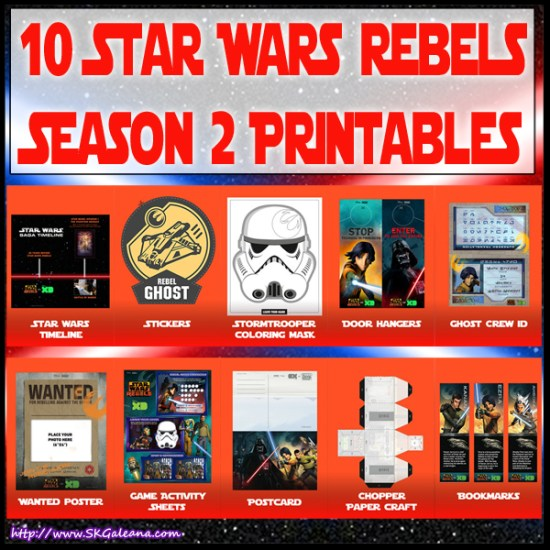 10 free star wars rebels season 2 printables