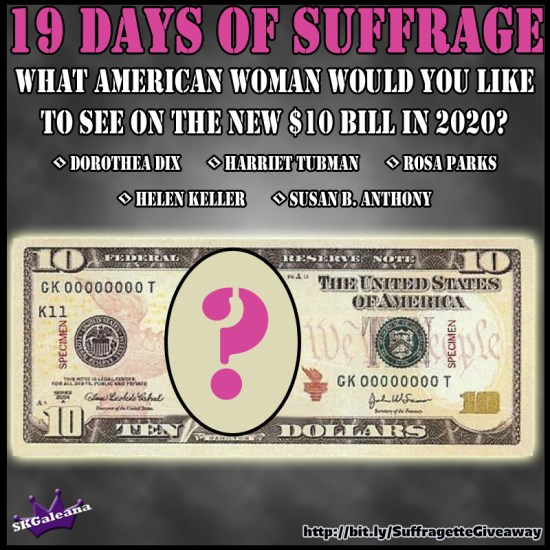 What Woman do you want on the 10 dollar bill