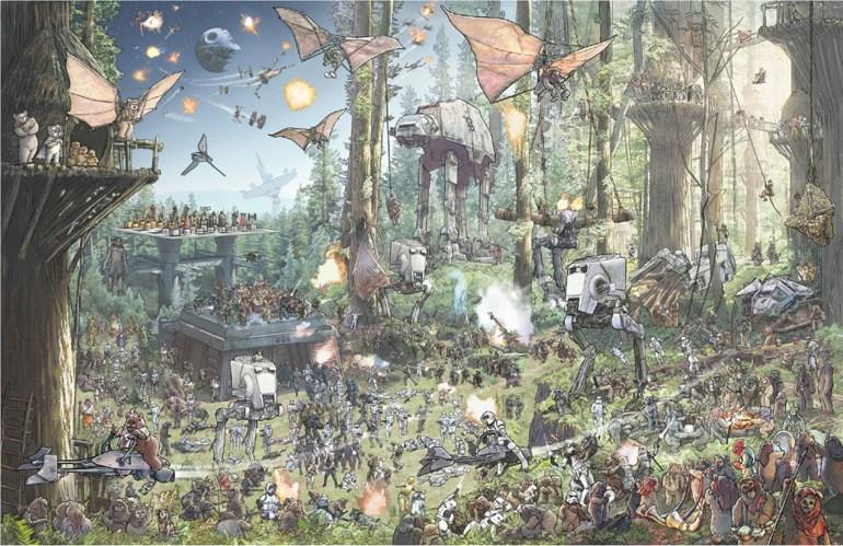 Star Wars The Epic Battles Endor