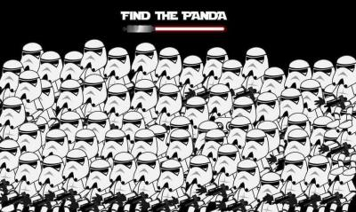 find Panda star wars2