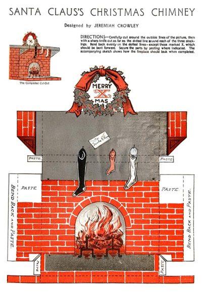 santa-chimney-paper-craft