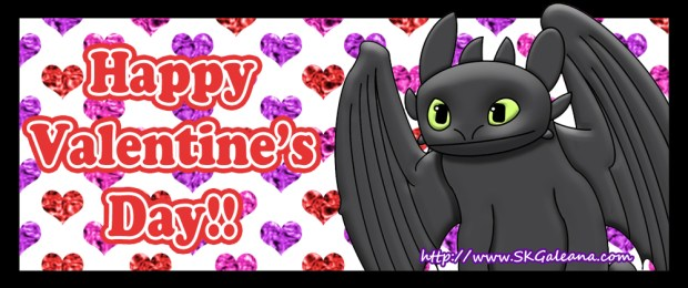 Valentine's Day Toothless