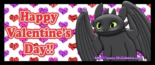 Valentine's Day Toothless