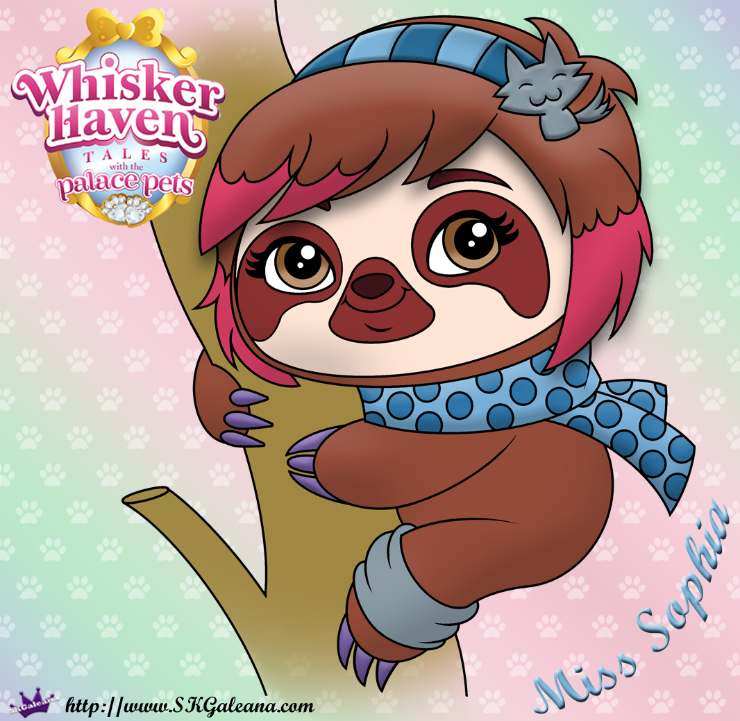 Whisker Haven Tales Coloring Page Of Miss Sophia