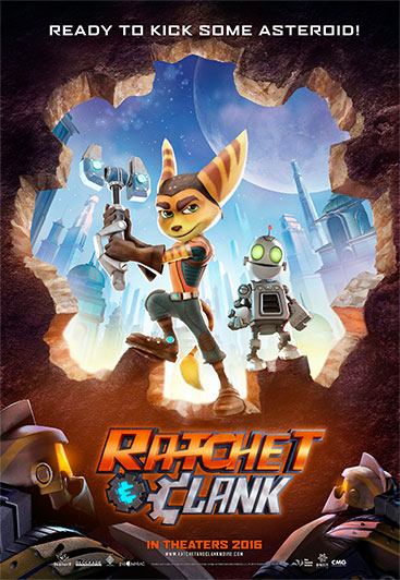 ratchet clank poster