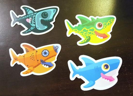 DigitalOcean Shark Stickers