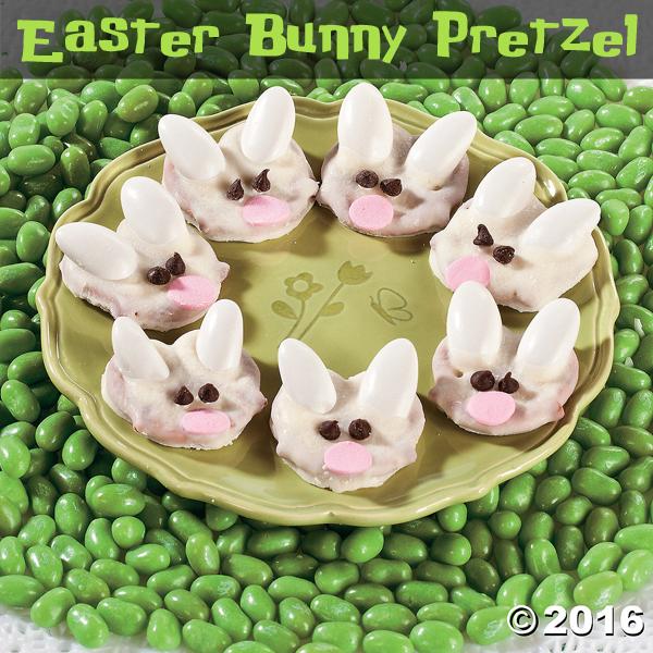 Easter Bunny Pretzel image