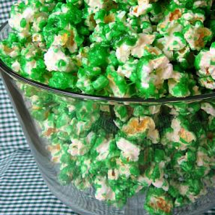 Image from Disney Family: http://family.disney.com/recipe/green-candied-popcorn