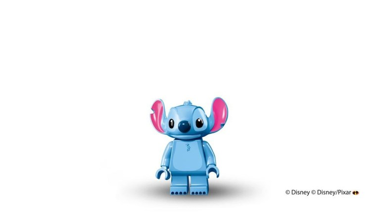 Stitch Lego Minifigure from Disney's Lilo and Stitch