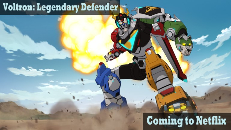Voltron Legendary Defender Coming to Netflix