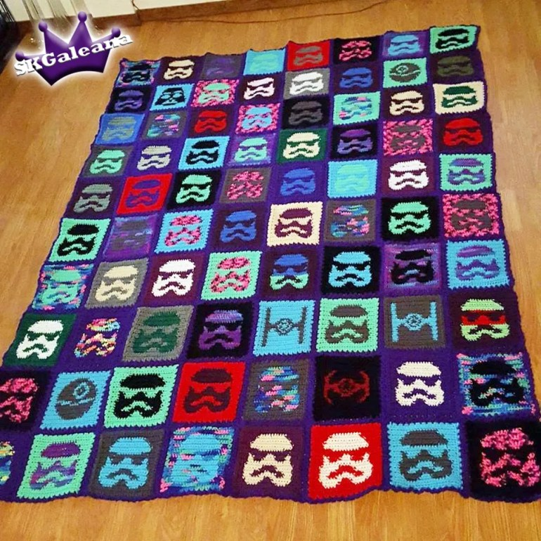 Star Wars Crochet Blanket by SKGaleana