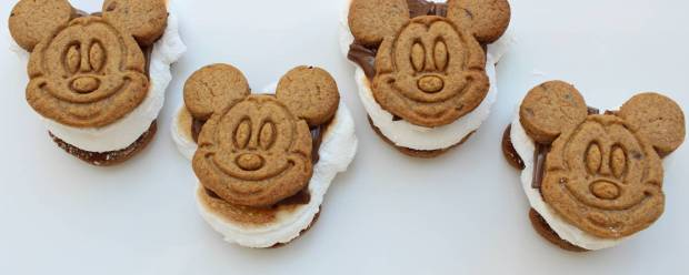 Mickey Mouse homemade Smores