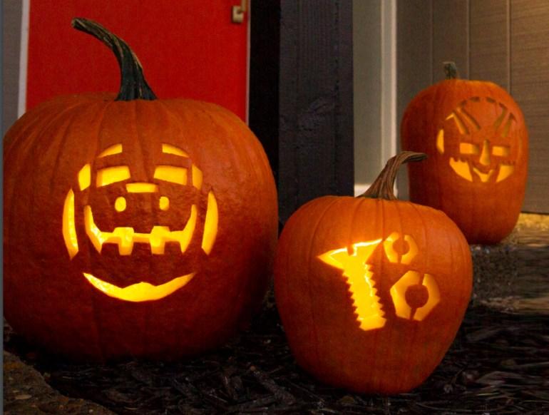 dinotrux-pumpkins