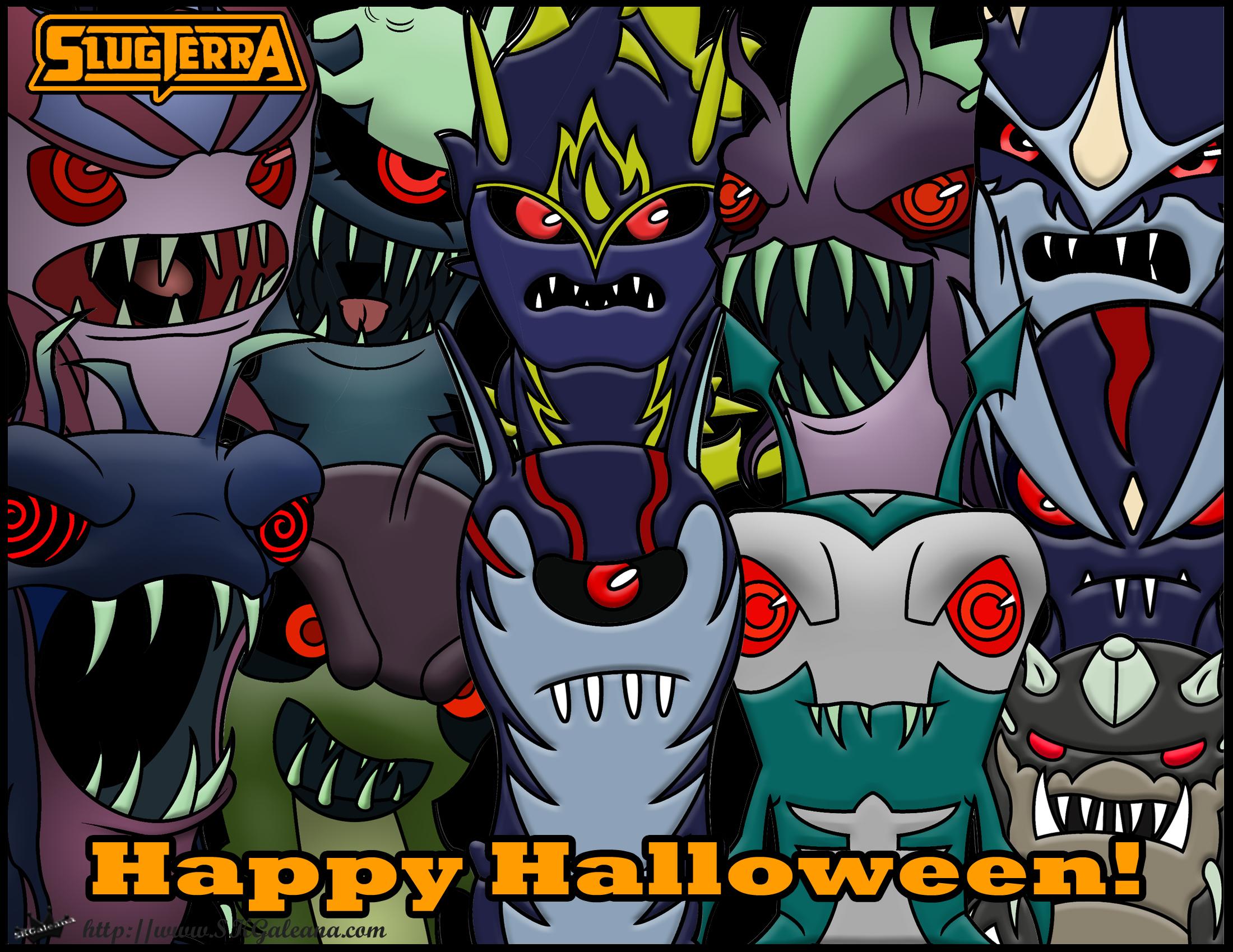 Happy Halloween Ghouls Slugterra Skgaleana