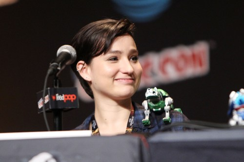 -  New York, NY - 10/7/16 - DreamWorks Voltron Legendary Defender at New York Comic Con Bex Taylor-Klaus discusses the upcoming season of the Netflix original series DreamWorks Voltron Legendary Defender at New York Comic Con at Javits Center in New York City   -Pictured: Bex Taylor-Klaus -Photo by: Patrick Lewis/Starpix
