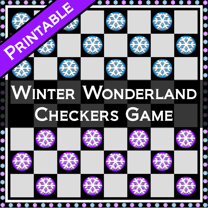 printable-winter-wonderland-checkers-game-by-skgaleana