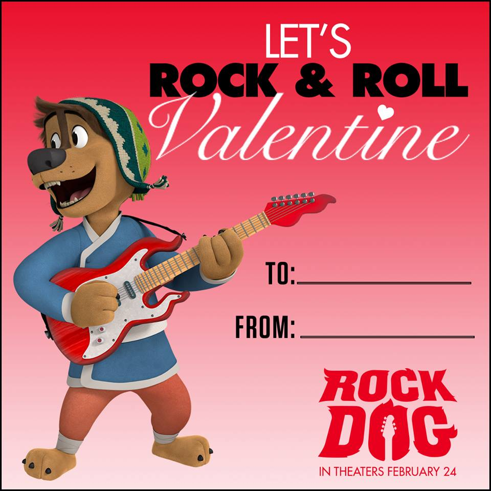 Free Printable Rock Dog Activities
