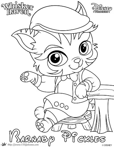 To Download The Barnaby Pickles Coloring Page 1 Click Image Below 2 Save PDF Your Computer 3 Print Color And Enjoy
