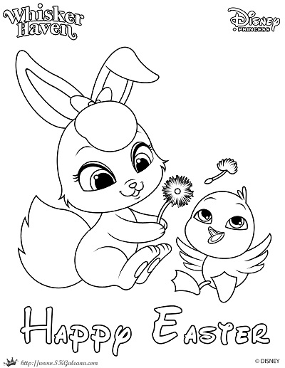 princess easter coloring pages photo29